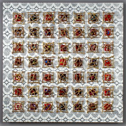 JALOUSIES - 2007 - 100 x 100 cm