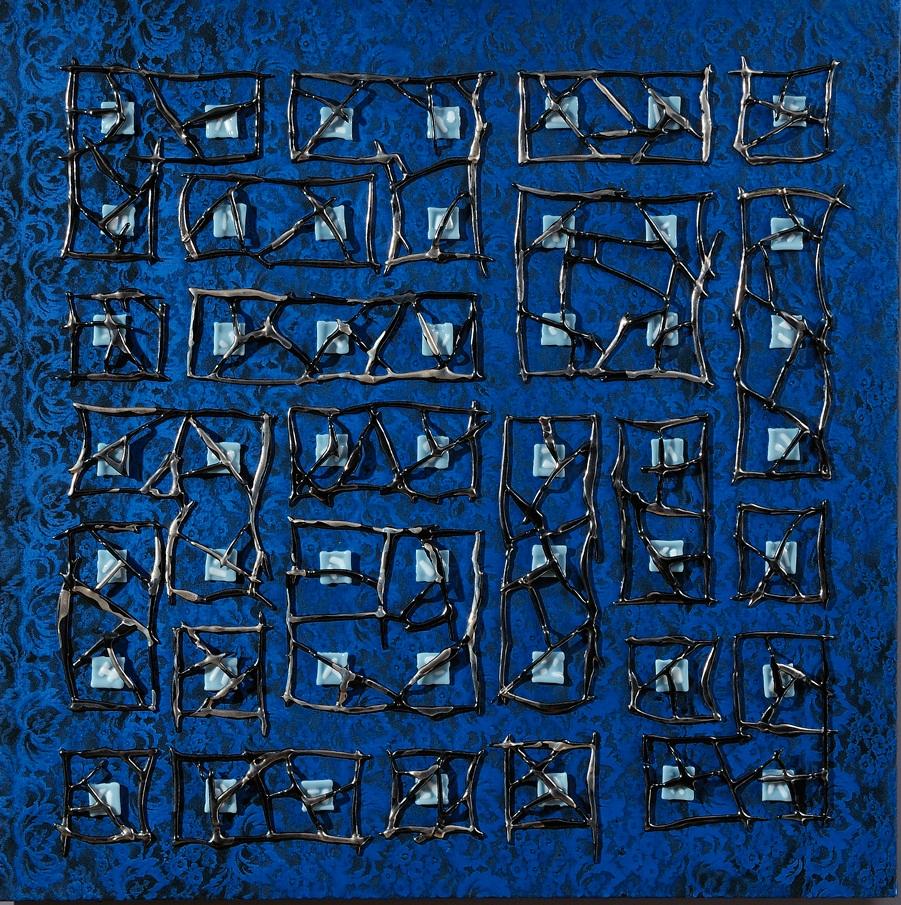 BLUE BABYLONE - 2010 - 100 x 100 cm